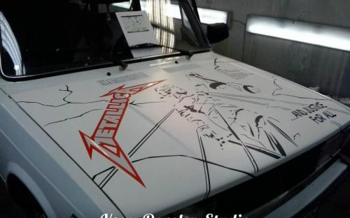 "(ВИНИЛ) Lada METALLICA ""And justice for all.."""