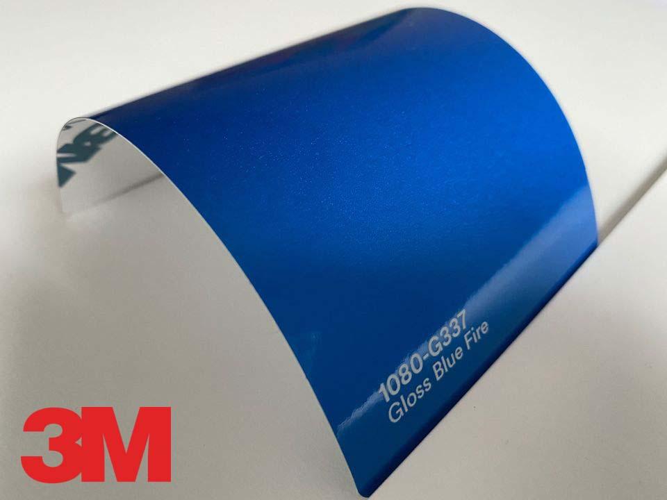 3M Wrap Film Series 1080-G337, Gloss Blue Fire