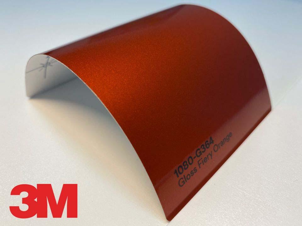 3M Wrap Film Series 1080-G364, Gloss Fiery Orange
