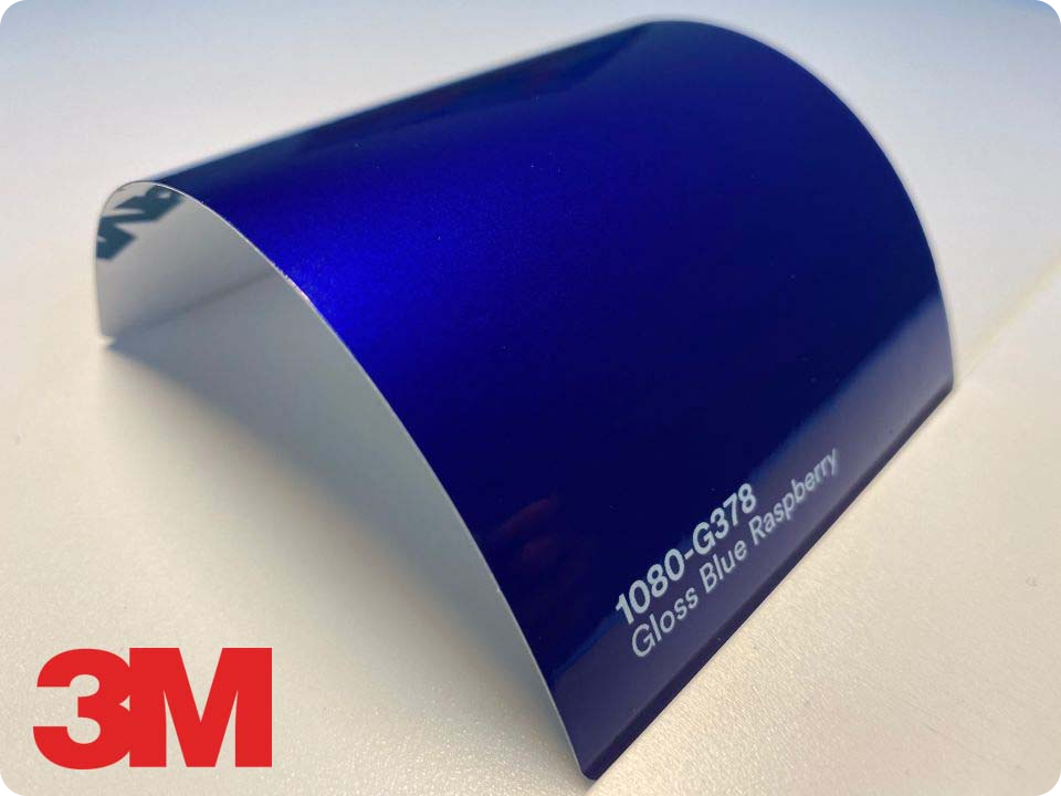 3M Wrap Film Series 1080-G378, Gloss Blue Raspberry