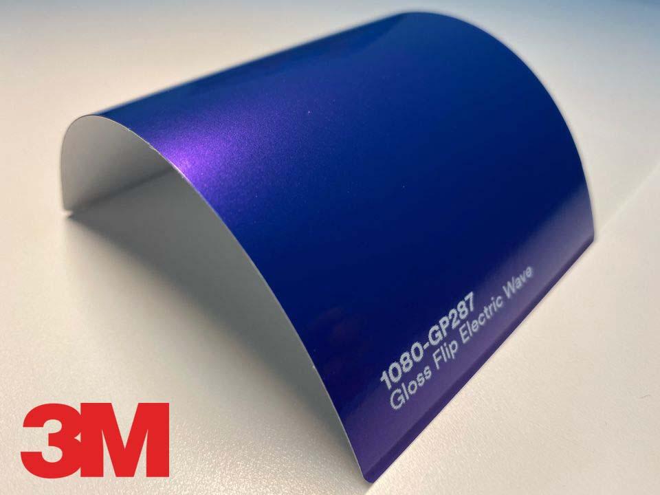 3M Wrap Film Series 1080-GP287, Gloss Flip Electric Wave