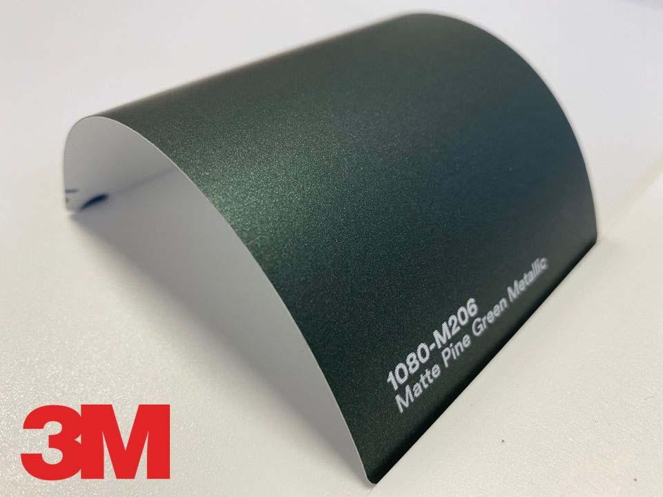 3M Wrap Film Series 1080-M206, Matte Pine Green Metallic