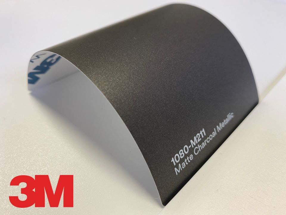 3M Wrap Film Series 1080-M211, Matte Charcoal Metallic