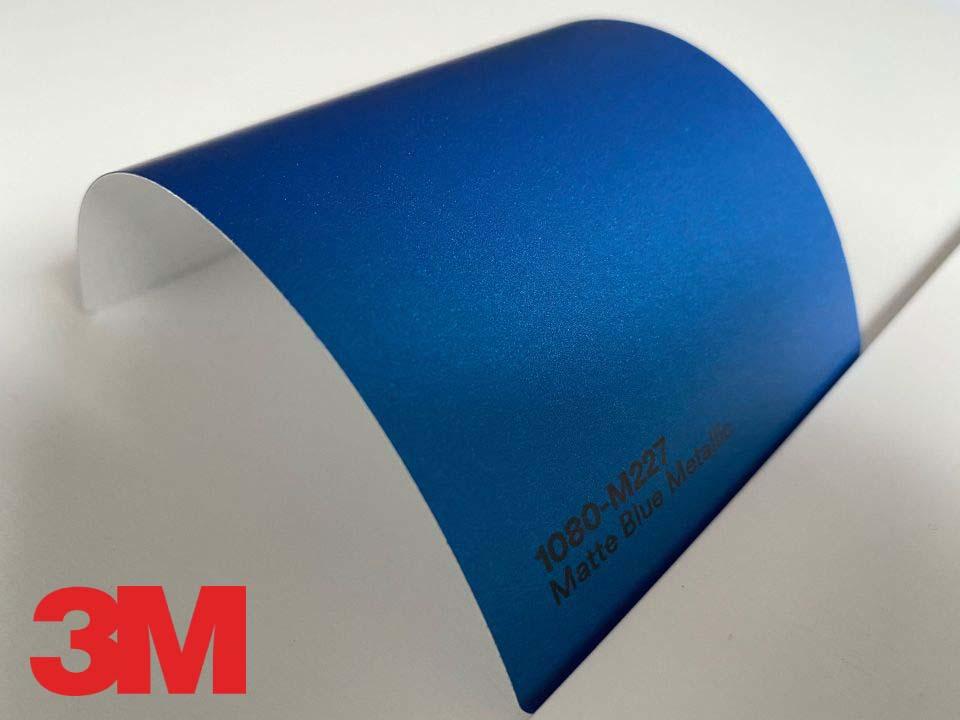 3M Wrap Film Series 1080-M227, Matte Blue Metallic