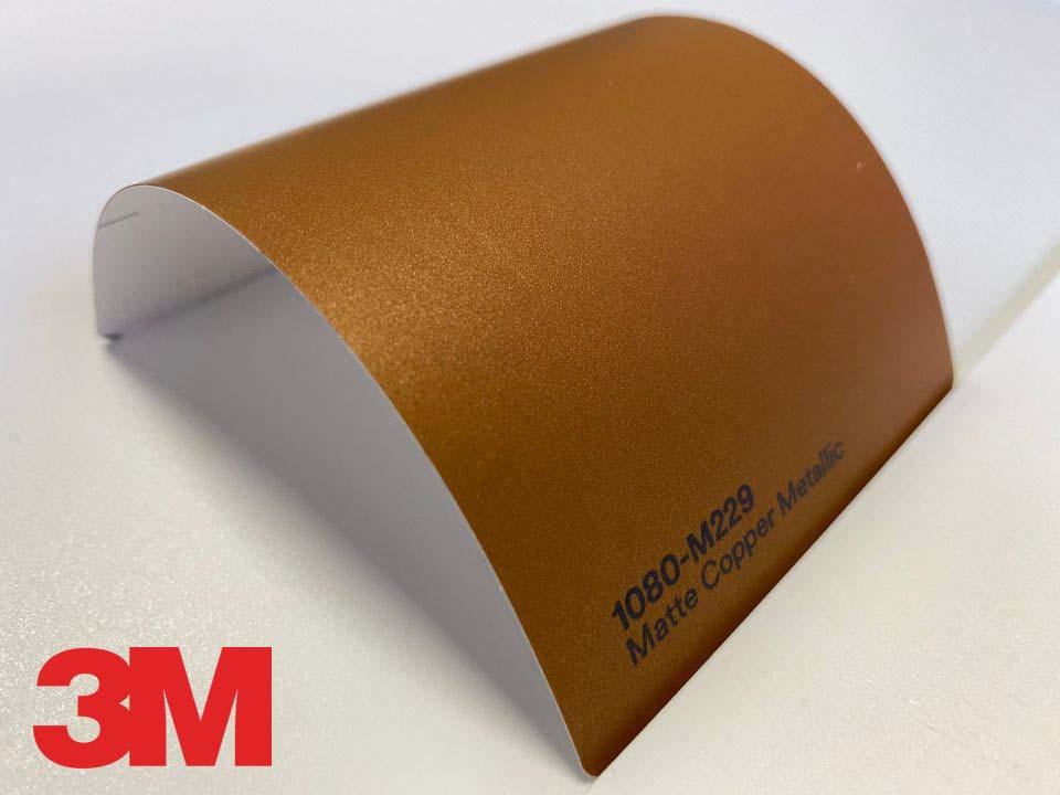 3M Wrap Film Series 1080-M229, Matte Copper Metallic