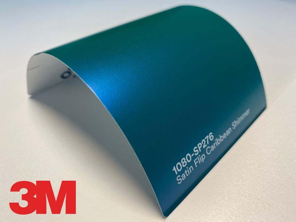 3M Wrap Film Series 1080-SP276, Satin Flip Caribbean Shimmer